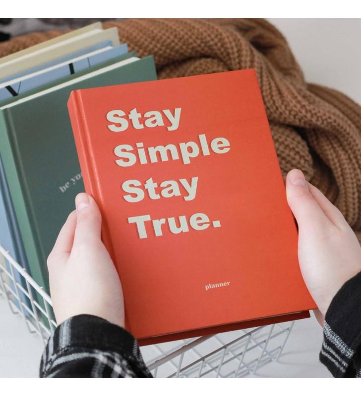 """Недельный планер """"Stay simple"""""""