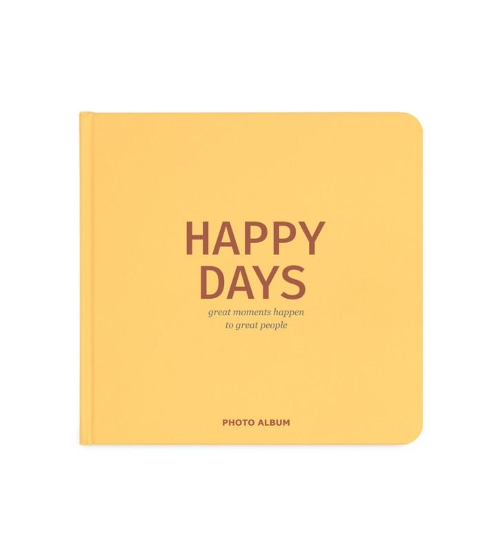 "Фотоальбом ""Happy Days"" ( yellow) black edition"