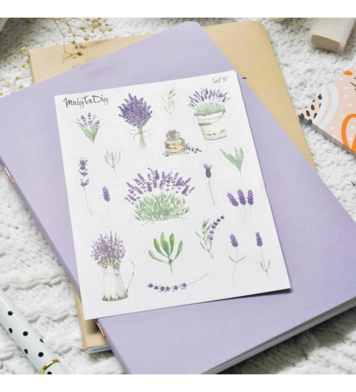 """Наклейки """"Lavender set"""""""