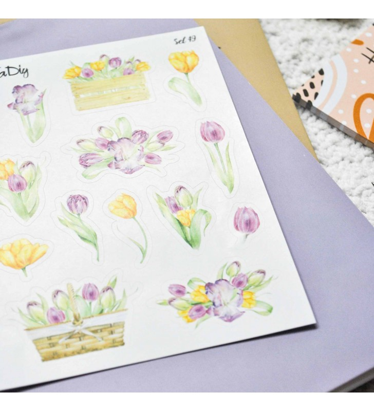 "Наклейки ""Tulips set"""