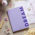 "Блокнот в клеточку ""Dream"" purple"