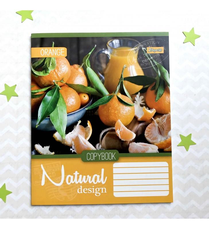 "Тетрадь #36 ""Natural"" orange"