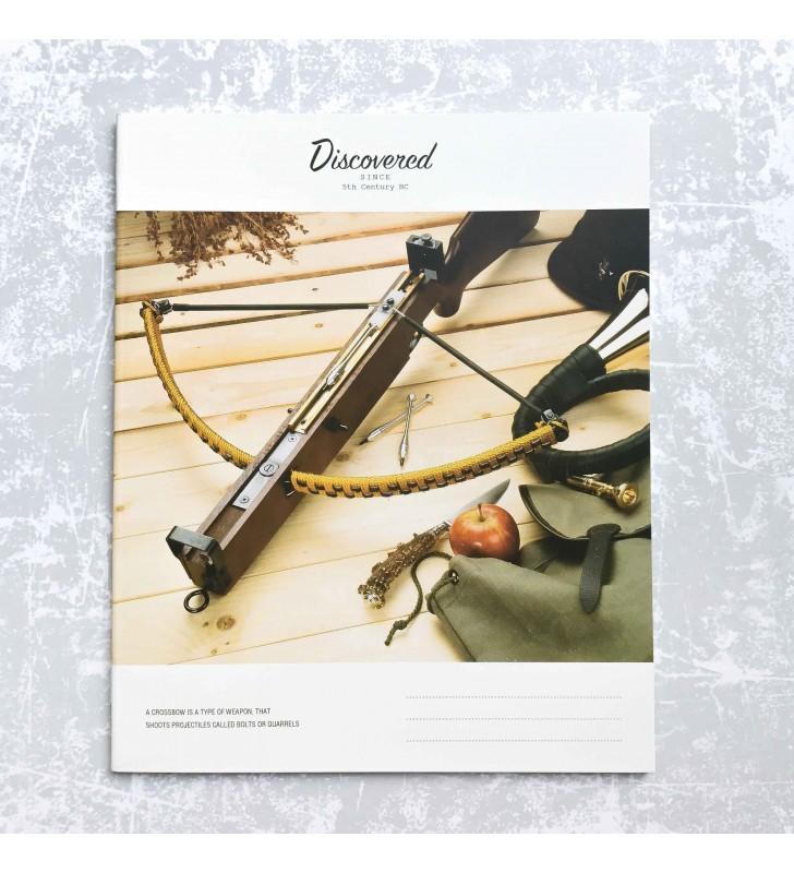 "Тетрадь =48 ""Discovered"" crossbow"