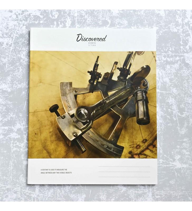"""Тетрадь =48 """"Discovered"""" sextant"""