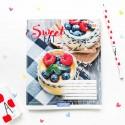"""Тетрадь #96 """"Sweet eat"""" creme brulee"""