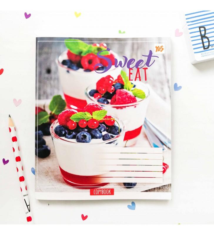 "Тетрадь #96 ""Sweet eat"" panna cotta"