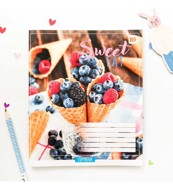 """Тетрадь #96 """"Sweet eat"""" ice cream"""