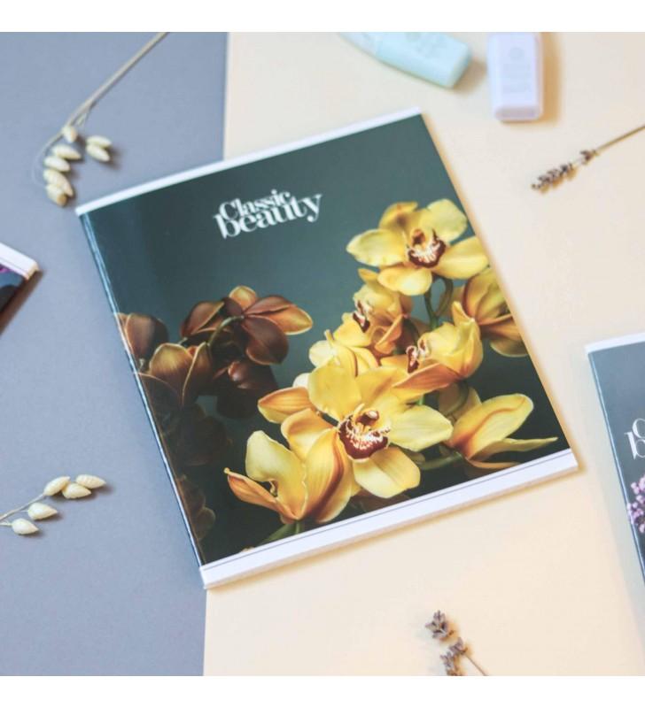 """Тетрадь #60 """"Classic beauty"""" orchid"""
