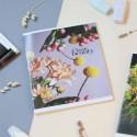 "Тетрадь #60 ""Classic beauty"" chrysanthemum"