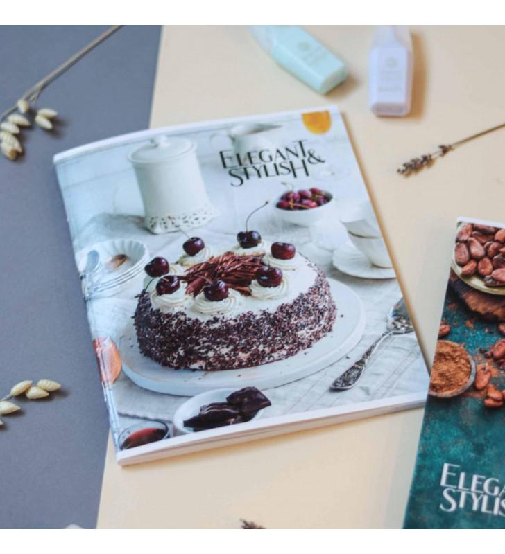 "Тетрадь #60 ""Elegant"" cherry cake"