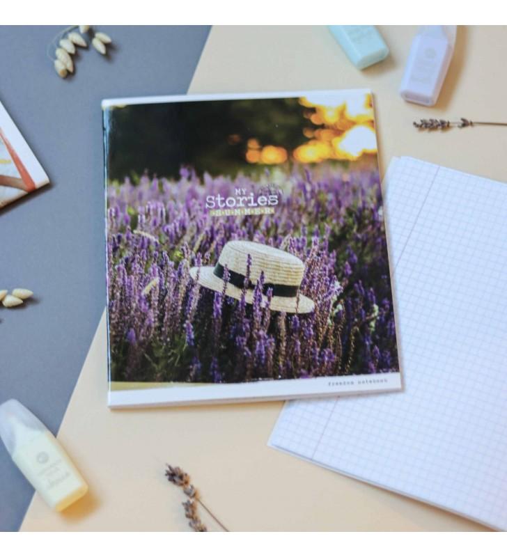 Тетрадь 96л Summer story lavender