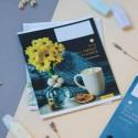 Тетрадь 24кл About flowers yellow