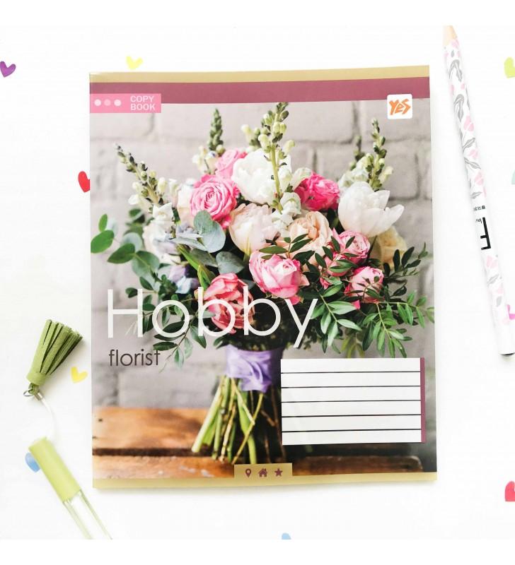 """Тетрадь =48 """"Hobby"""" florist"""