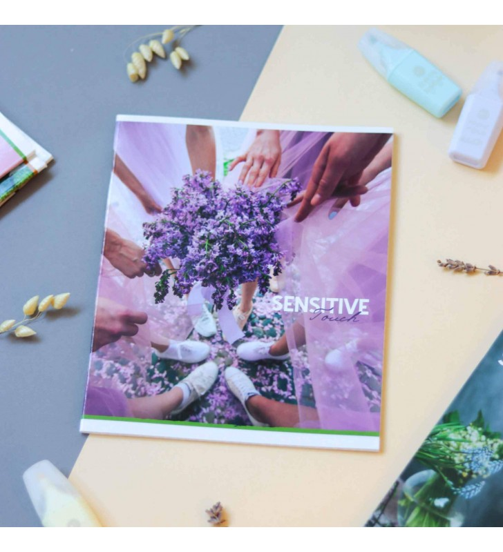 Тетрадь 36кл Sensitive lilac