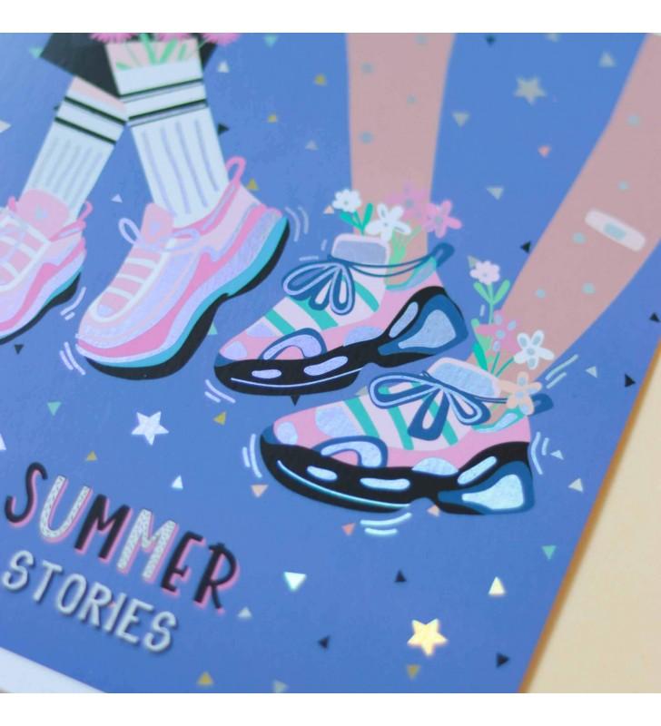 Тетрадь 24л Mood Stories Sneakers