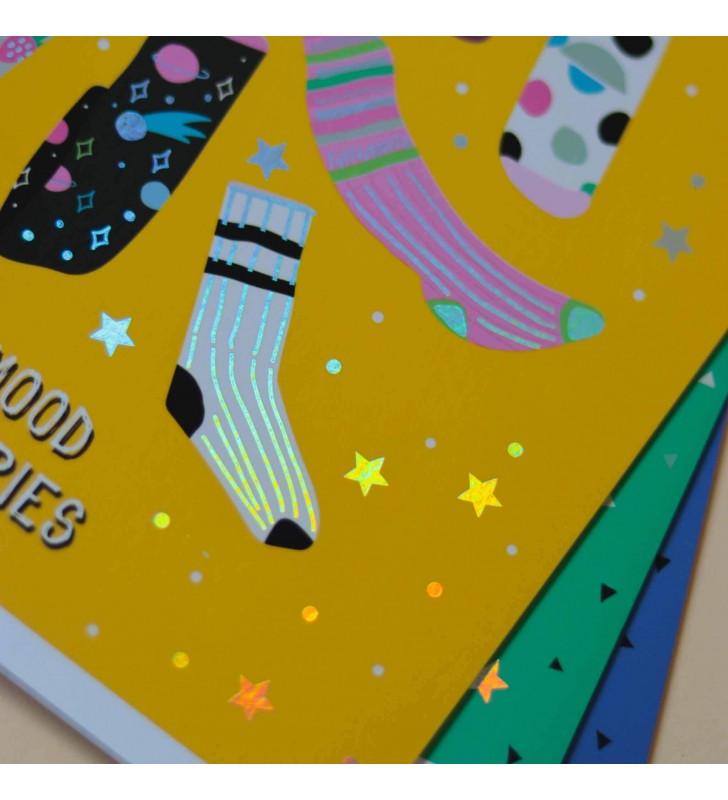 Тетрадь 24л Mood Stories Socks