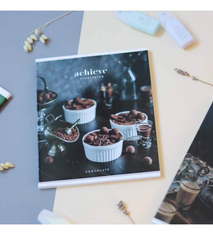 Тетрадь 96кл Achieve chocolate