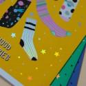 """Тетрадь #12 """"Mood Stories"""" Socks"""