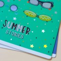 """Тетрадь =12 """"Mood Stories"""" Glasses"""