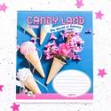 "Тетрадь =48 ""Candy land"" ice cream"