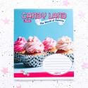 "Тетрадь =48 ""Candy land"" cupcake"
