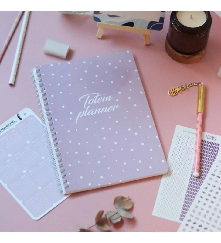 """Планер """"Totem planner"""" pink"""