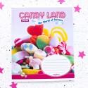 """Тетрадь =48 """"Candy land"""" candys"""