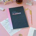 """Планер """"Monthly planner"""" black&pink"""