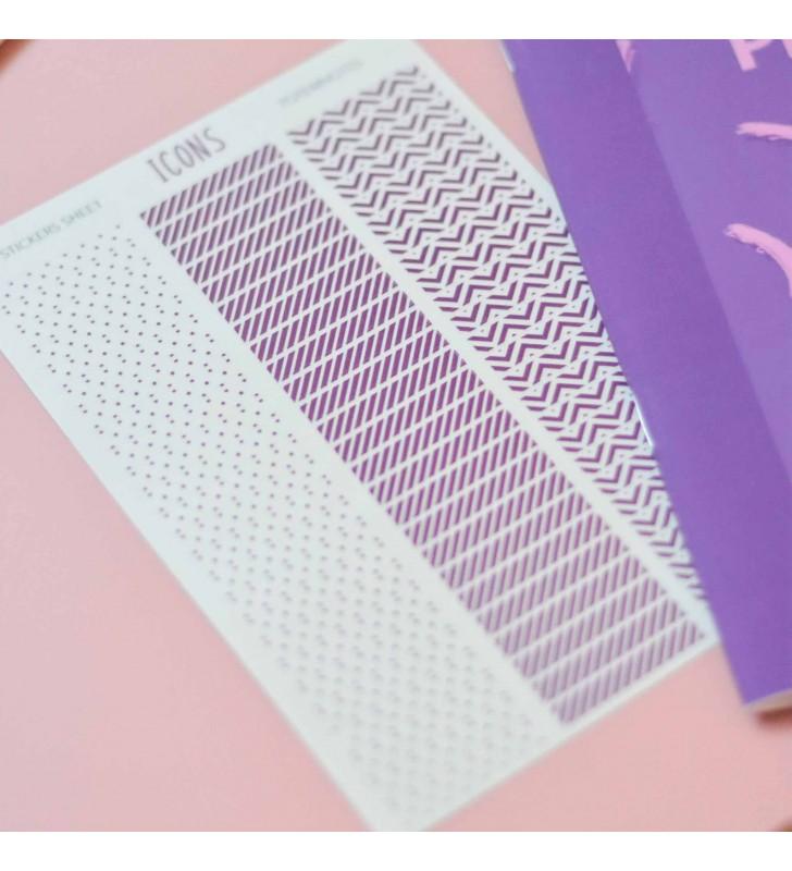 "Планер ""Monthly planner"" purple"
