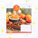 "Тетрадь #24 "" Still life"" orange"