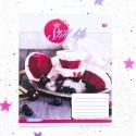 """Тетрадь #24 """" Still life""""  ice cream"""