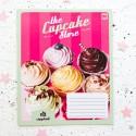 """Тетрадь =18 """"Cupcake store"""" pink"""