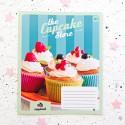 "Тетрадь =18 ""Cupcake store"" cupcakes"
