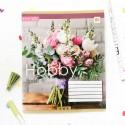 """Тетрадь =24 """"Hobby"""" florist"""