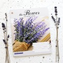 """Тетрадь =96 """"The flower"""" lavender"""