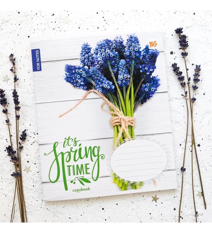 "Тетрадь #96 ""Spring time"" muscari"