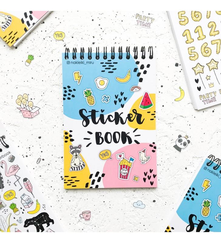 """Стикербук """"Sticker boom"""""""