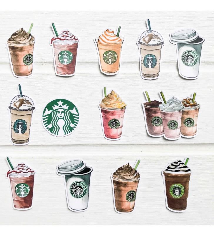 "Набор наклеек ""Starbucks"""