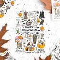 """Наклейки """"Halloween"""" '18"""