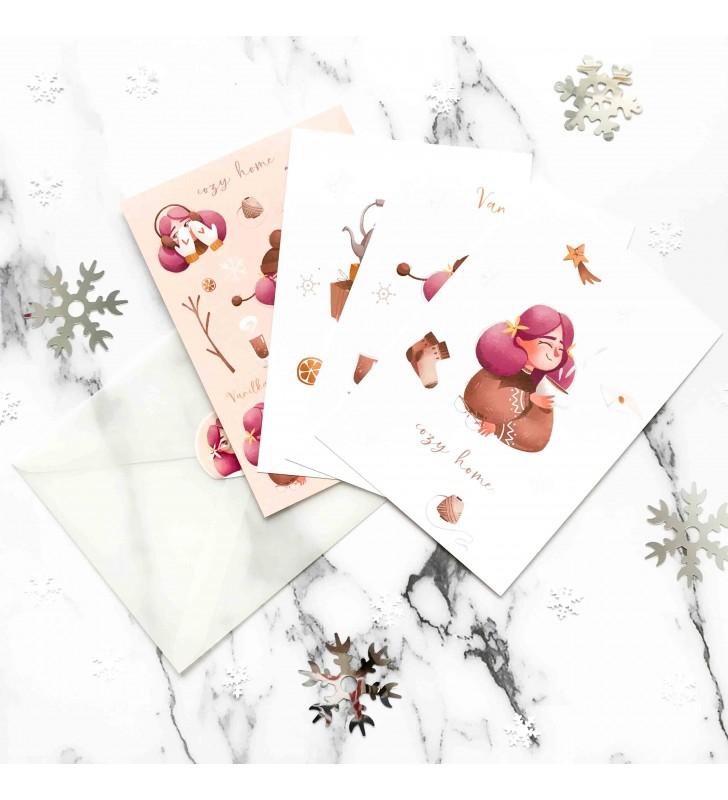 """Набор открыток """"Vanilla postkards"""""""