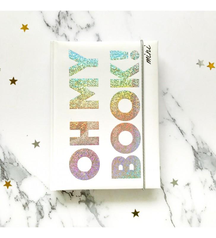 """Блокнот в клеточку """"Oh My Book! Mini"""" белый"""