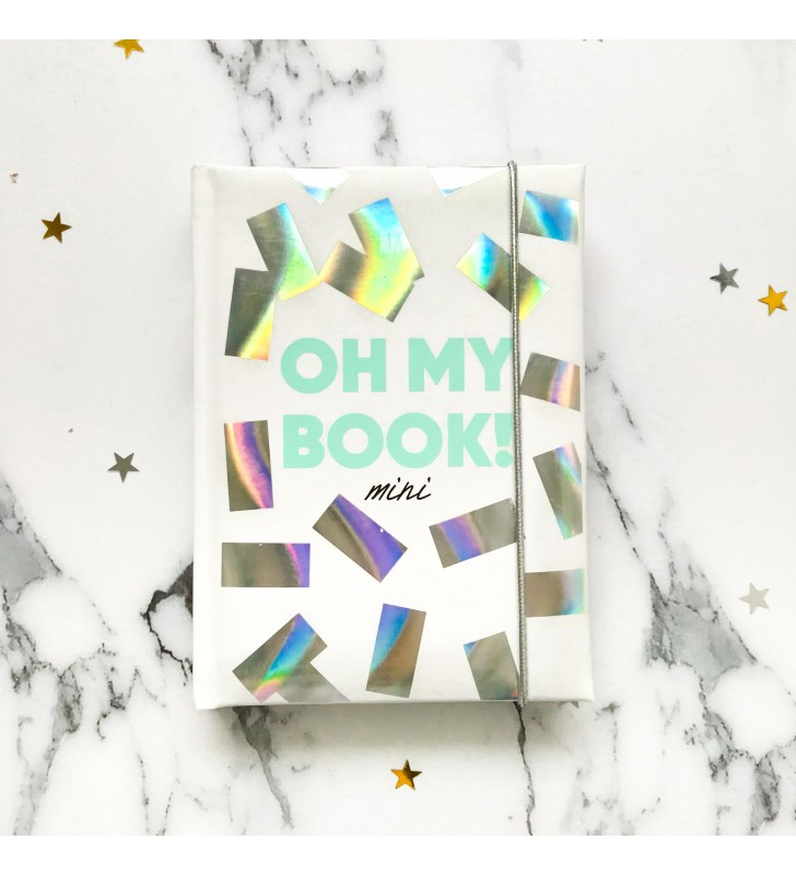 """Блокнот в клеточку """"Oh My Book! Mini"""" конфети"""