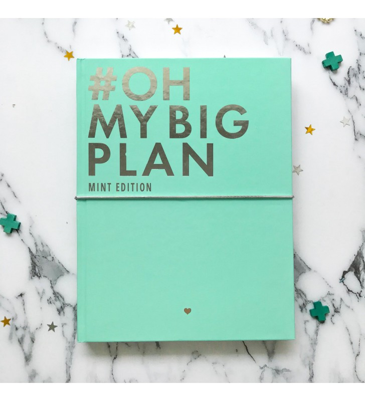 "Планер ""OH MY BIG PLAN"" Mint Edition"