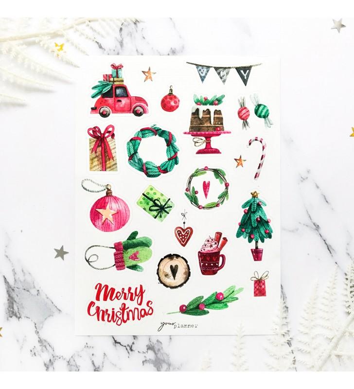 """Наклейки """"Magic Christmas"""""""