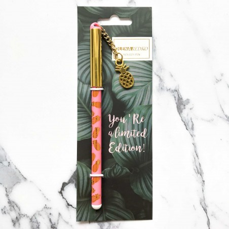 "Ручка ""Pineapple"" с подвеской"