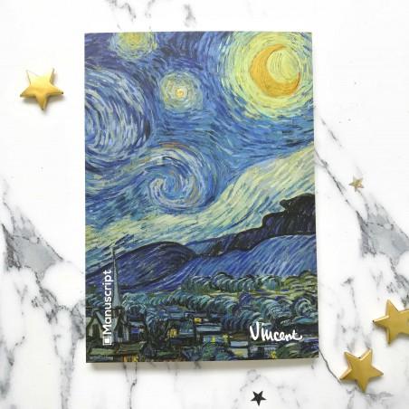 """Скетчбук """"Van Gogh 1889 Звездная ночь"""""""