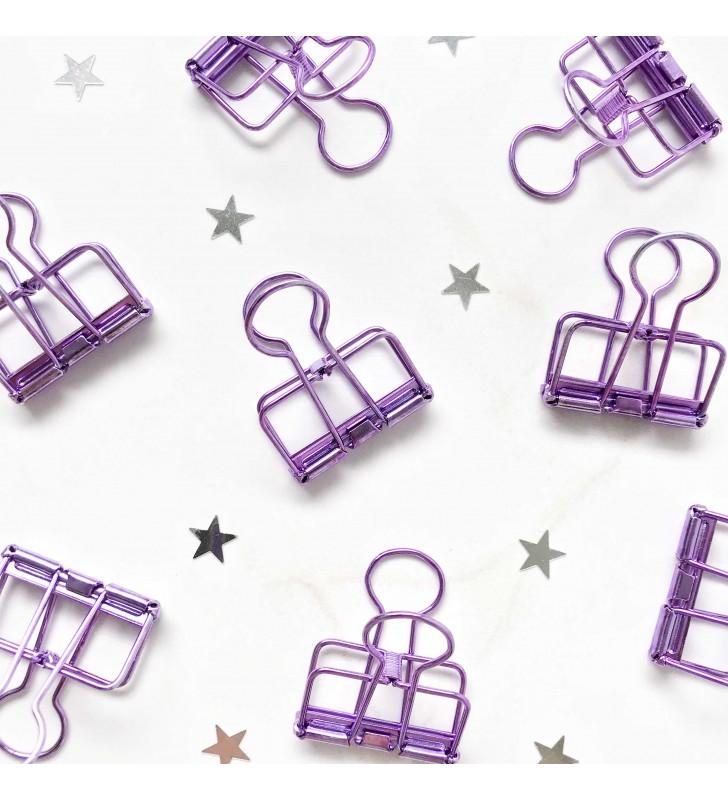 """Биндер M """"Фиолетовый"""""""