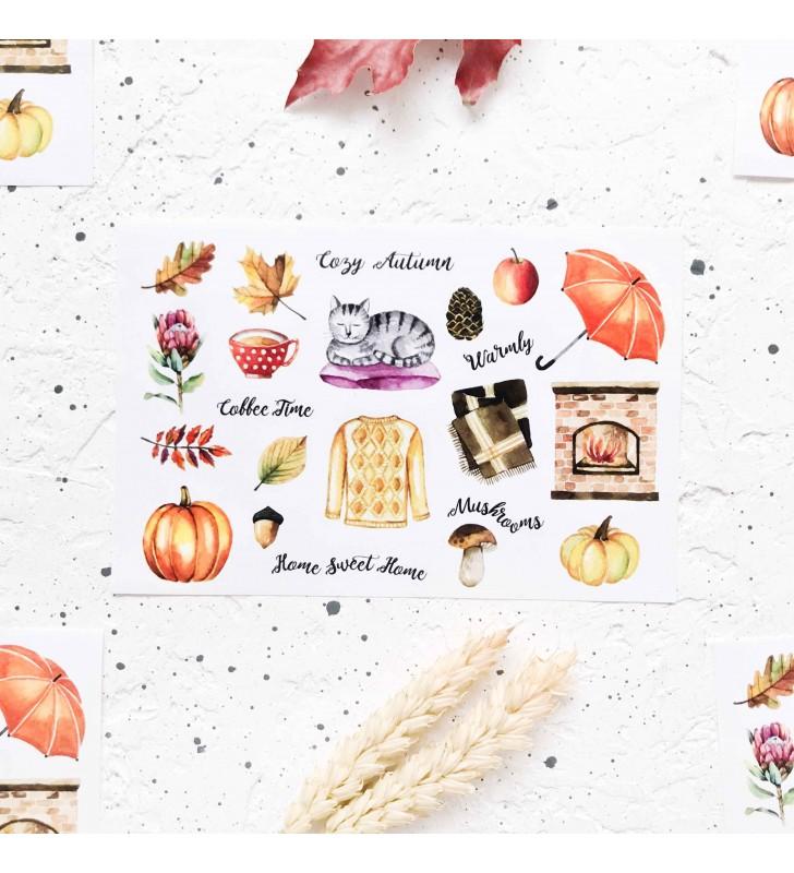 "Наклейки ""Cozy autumn"""