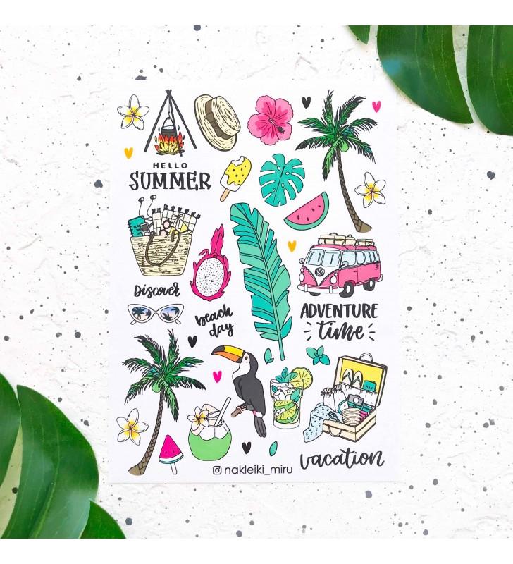 "Наклейки ""Summer"" adventure"