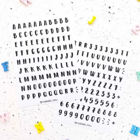"Набор наклеек ""Буквы. Алфавит"""